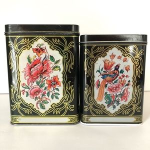 Nesting Tin Canisters